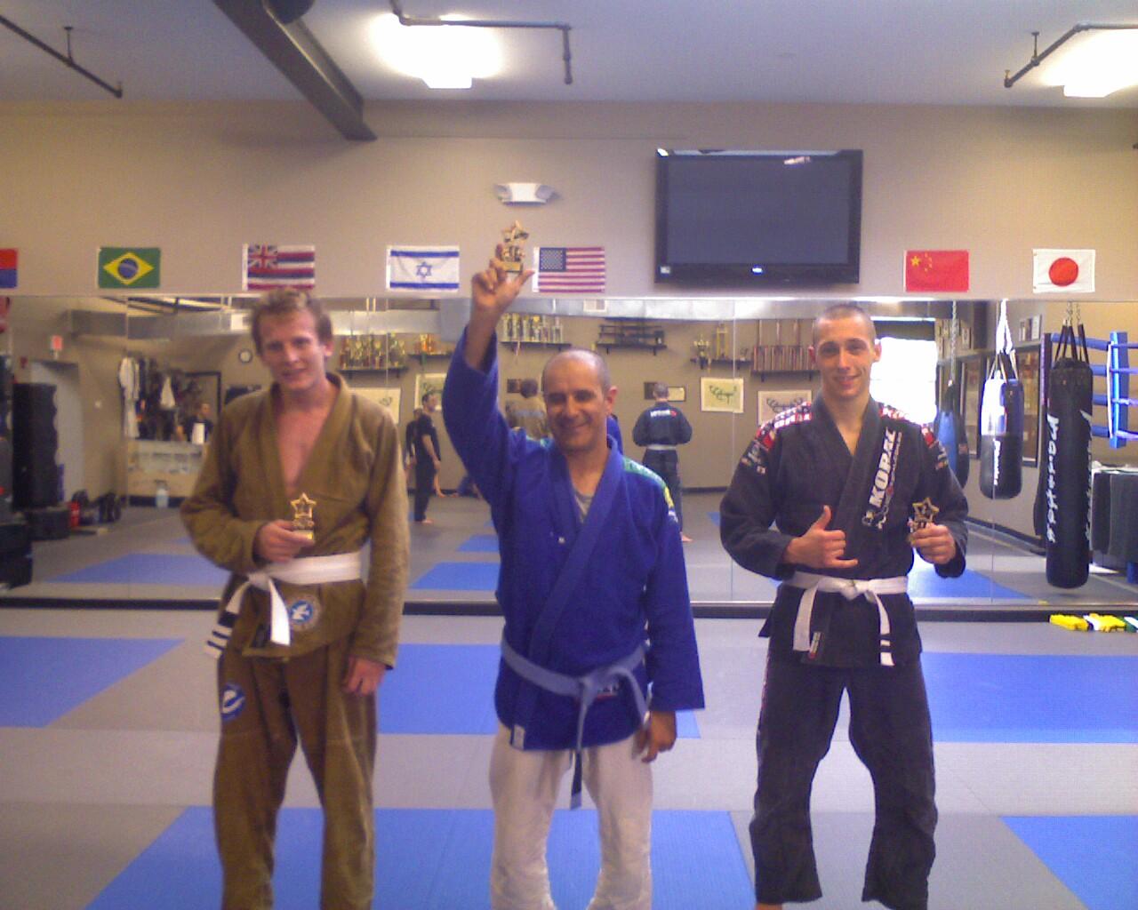 Plus One Sweeps Brazilian Jiujitsu Tournament!
