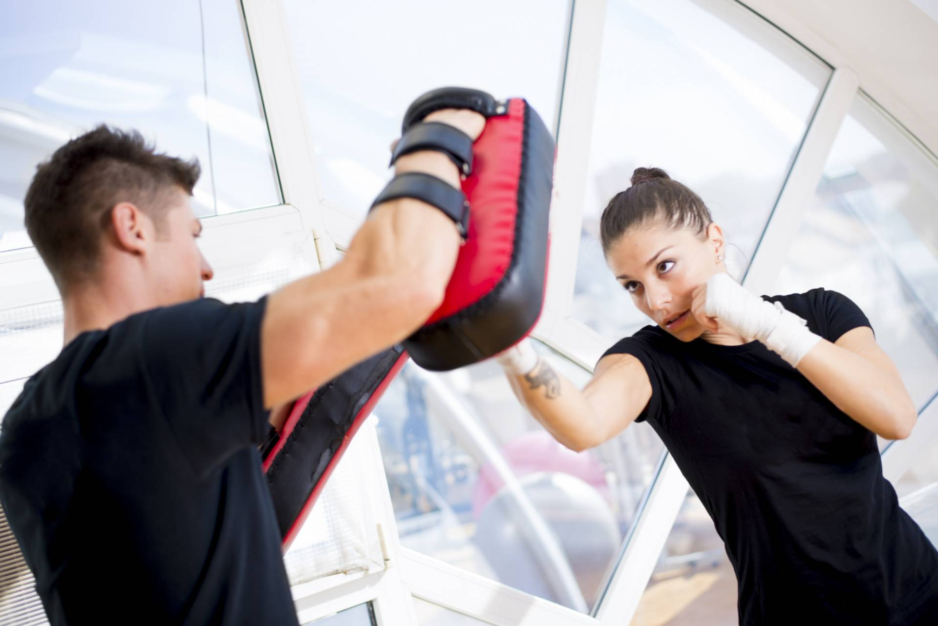 Women's Self Defense and Kickboxing