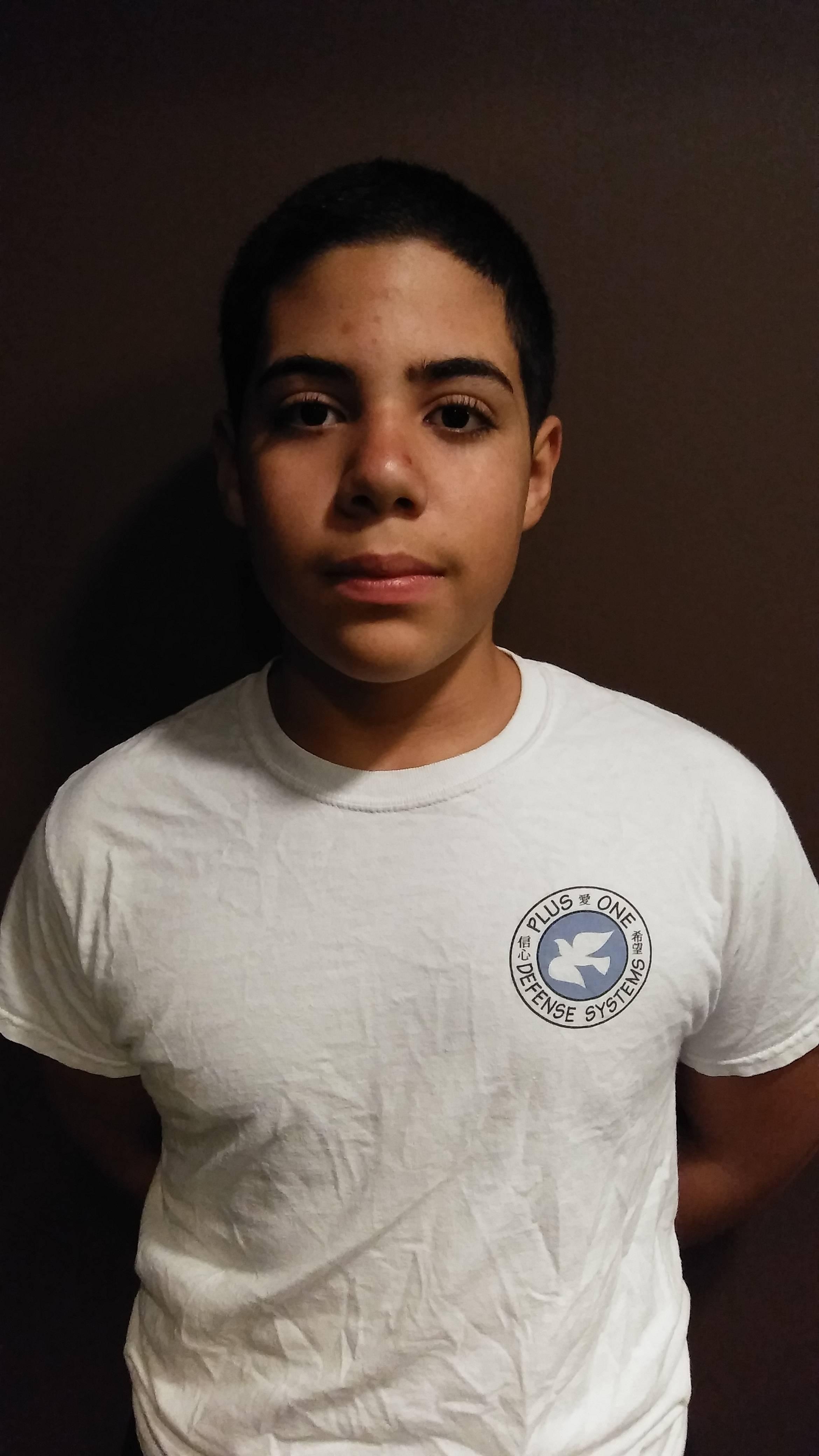 Carlos Ruiz – 1st Degree Youth Black Belt