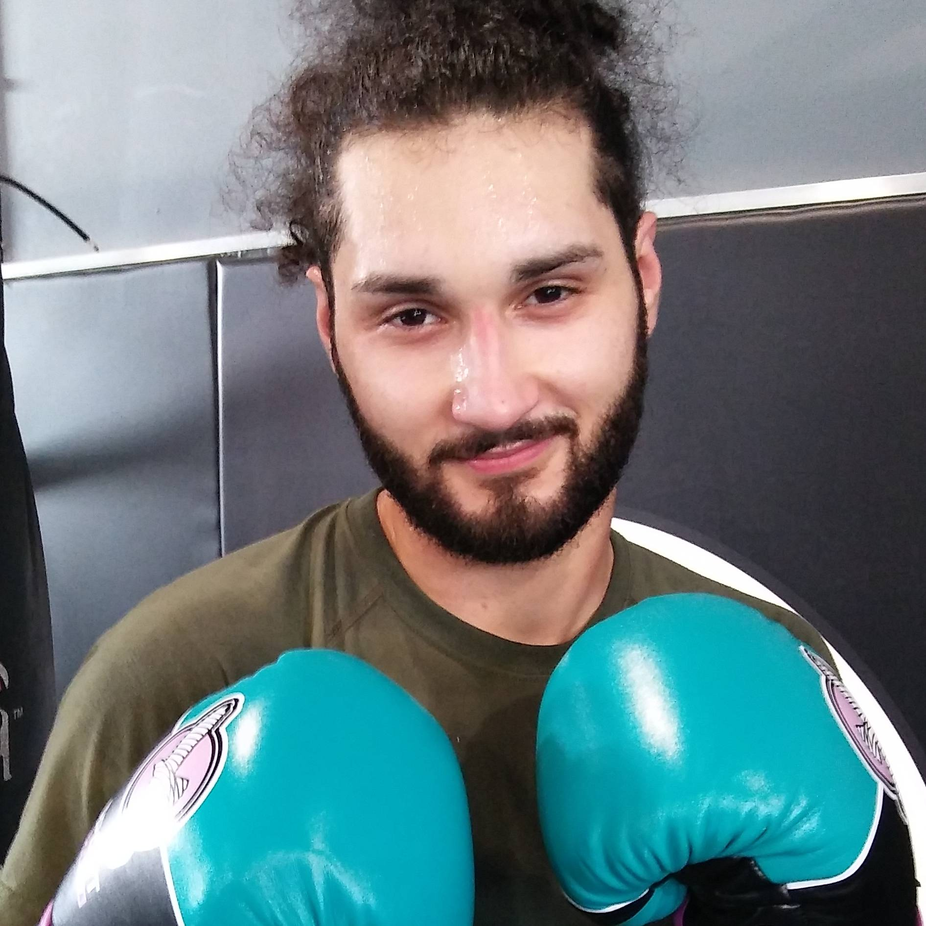 Kickboxing Landing Page