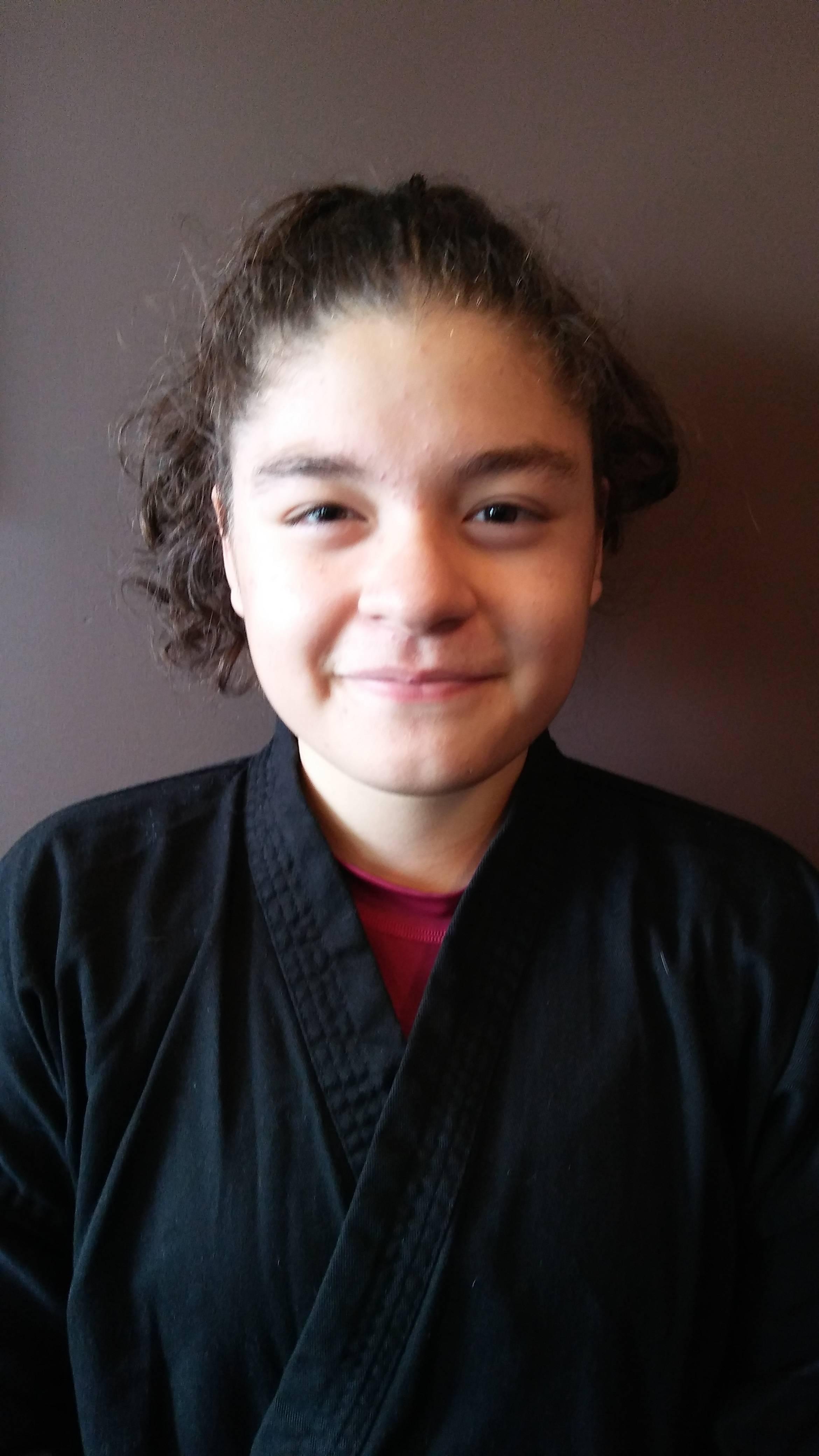 Julia Sanchez – 1st Degree Black Belt