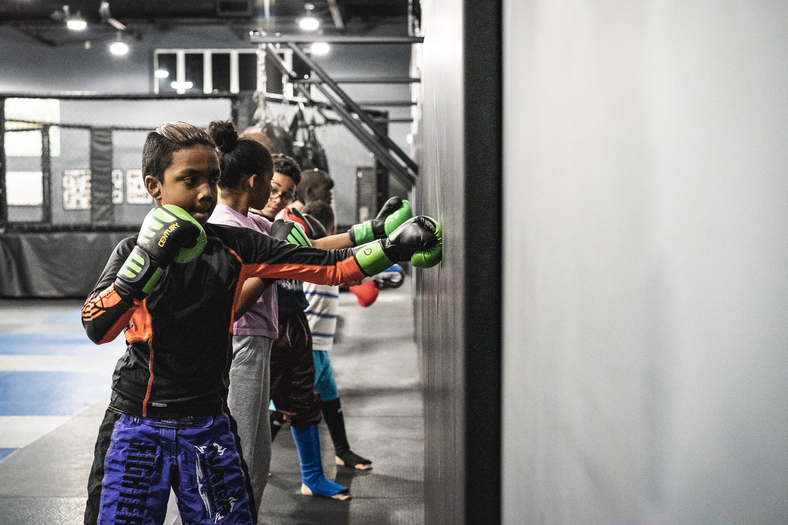 New Muay Thai Class for Juniors (Ages 5-7) on Tuesdays at 4:30pm