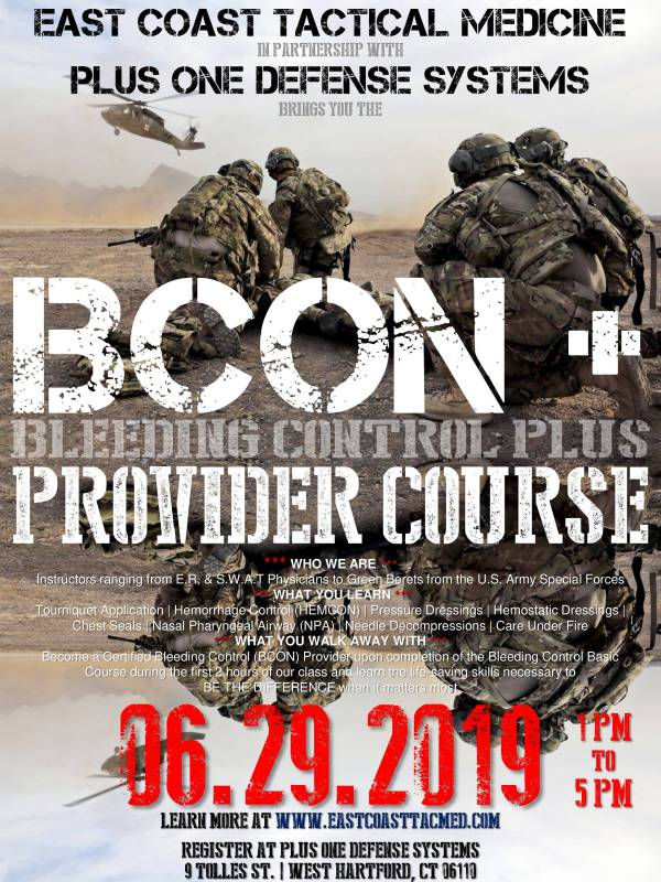 Tactical Medical BCON+ Course