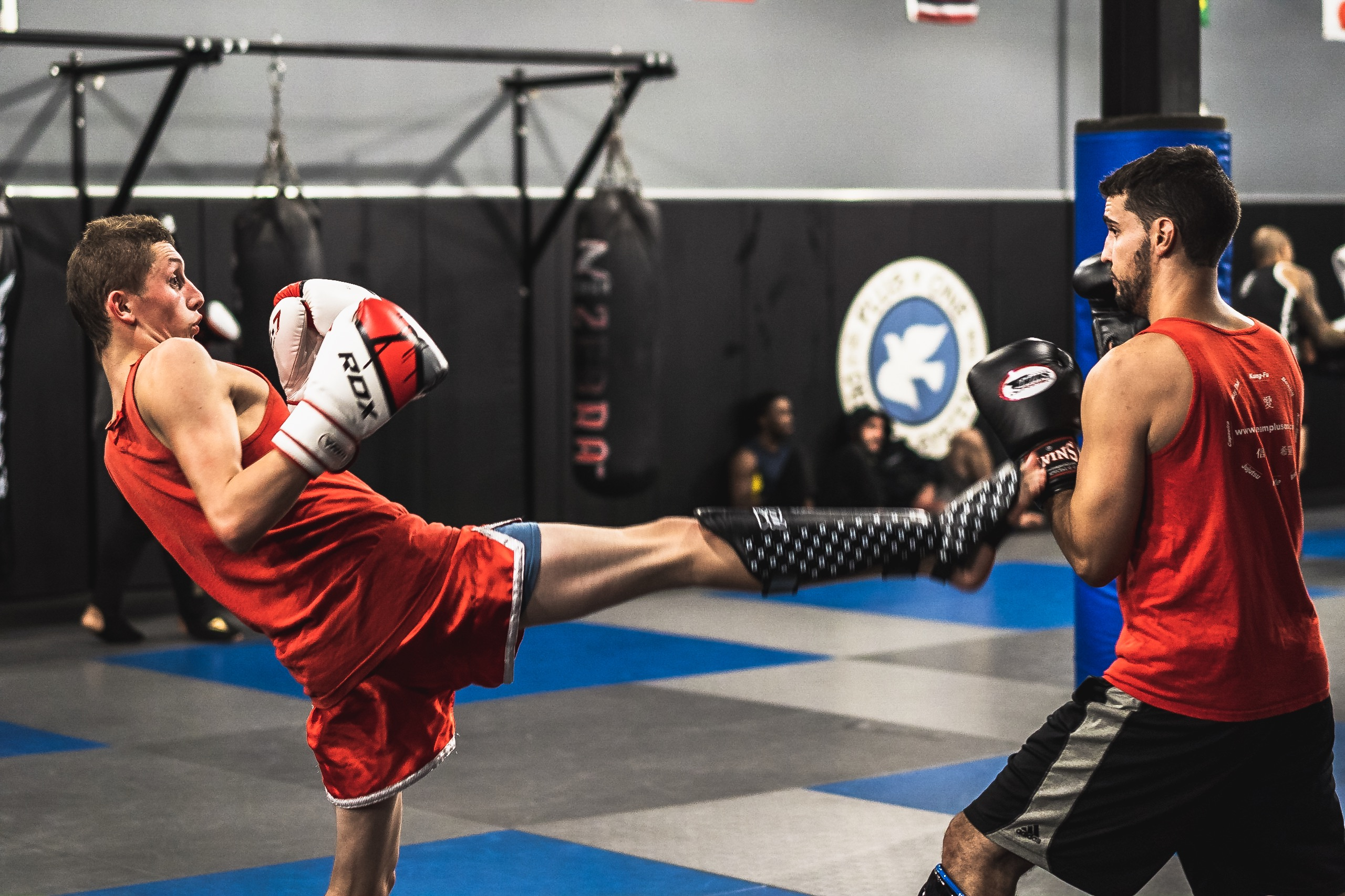 Muay Thai classes are a great cardio workout … but it's NOT Cardio Kickboxing